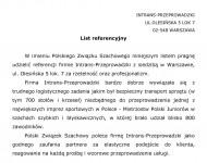 Referencje - Polski Związek Szachowy