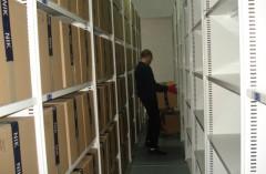 Przeprowadzka archiwum NIK z Warszawy do Milanówka