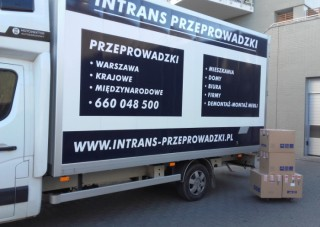 Przeprowadzka krajowa: Warszawa-Ochota - Gdańsk