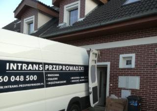 Przeprowadzka domu jednorodzinnego Warszawa - Bruksela