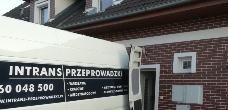 Przeprowadzka domu jednorodzinnego Warszawa-Bruksela