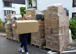 Przeprowadzka międzynarodowa autem ciężarowym na trasie: Polska-Niemcy